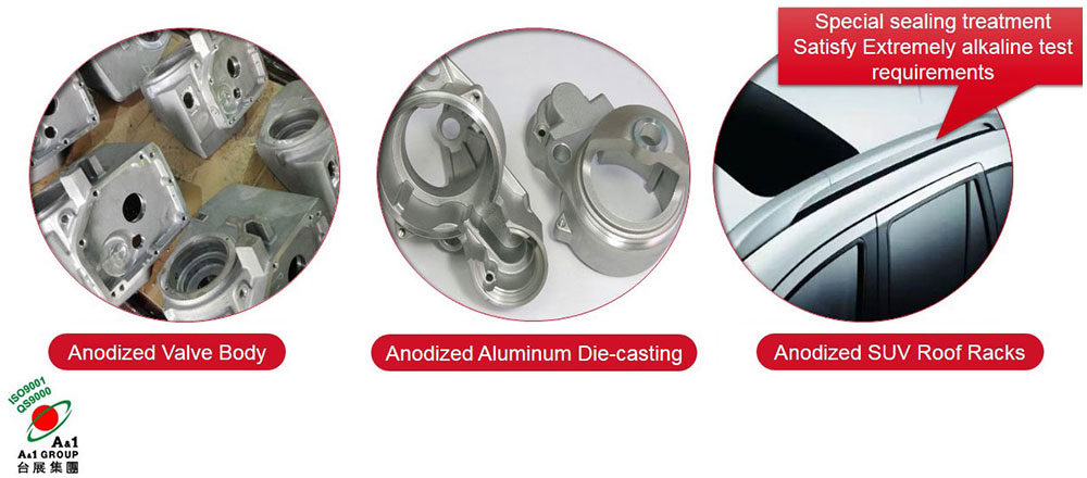 Product Introduction - Anodizing of Automotive Parts